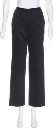 Tahari High-Rise Straight-Leg Pants
