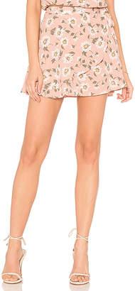 Show Me Your Mumu Twirl Wrap Skirt