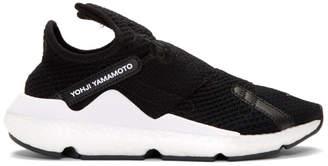 Y-3 Y 3 Black Reberu Sneakers