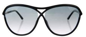 Tom Ford Tabitha Oversize Sunglasses