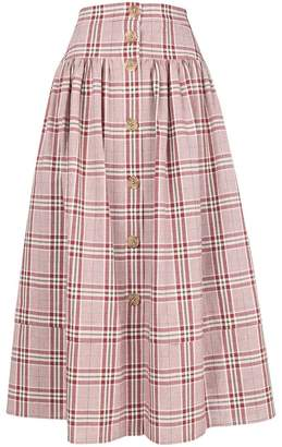 Freya Rejina Pyo checked skirt