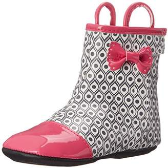 Robeez Girls' Zoey Rainboot Boot