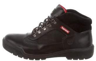 Timberland Supreme x Round-Toe Field Boot