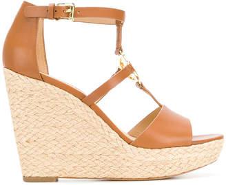 MICHAEL Michael Kors wedge heel logo sandals