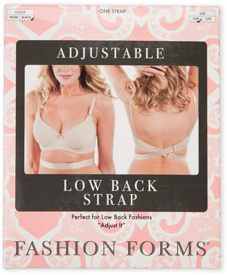 Fashion Forms Nude Adjustable Low Back Bra Strap
