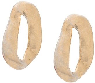 Marni Chunk hoop earrings