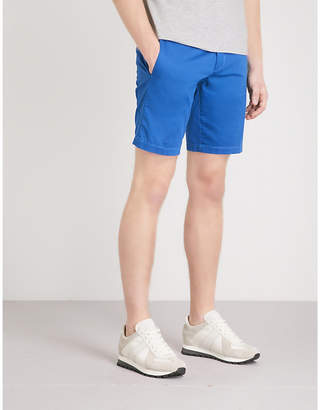 BOSS Slim-fit cotton-blend shorts