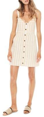 Faithfull The Brand Le Petite Stripe Linen Dress