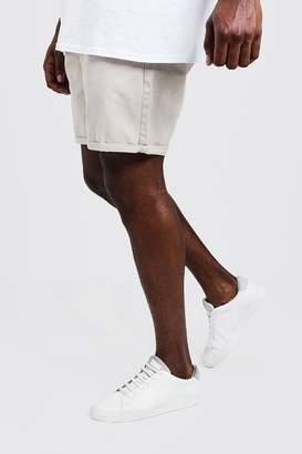boohoo Big And Tall Slim Fit Chino Shorts