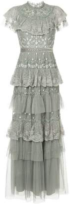 Needle & Thread tiered tulle dress