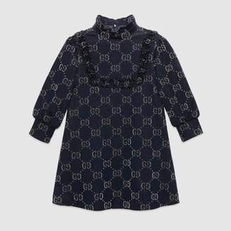 Gucci Children's GG lame dress
