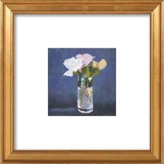 Flowers, Vase Framed Giclee Print, Artfully Walls
