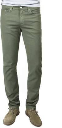 Hunter S.M.N. Twill Slim Straight In Dark Moss