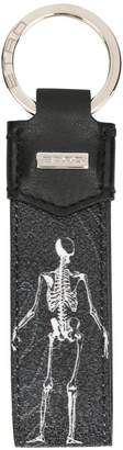 Etro skeleton tag keyring