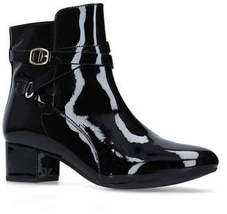 Carvela Patent Renee Ankle Boots