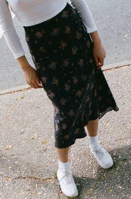 Lily Ashwell Gia Slip Skirt - Rosebud Silk