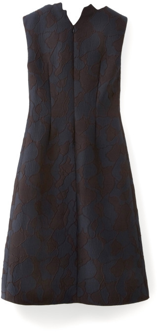 3.1 Phillip Lim Abstract Neckline Dress With Cdc Inserts