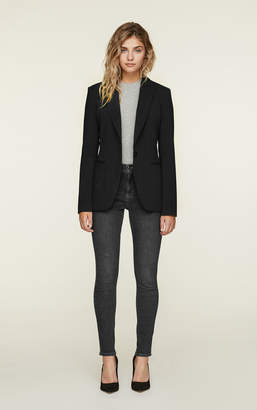 Soia & Kyo ELDA slim fit blazer with notch collar