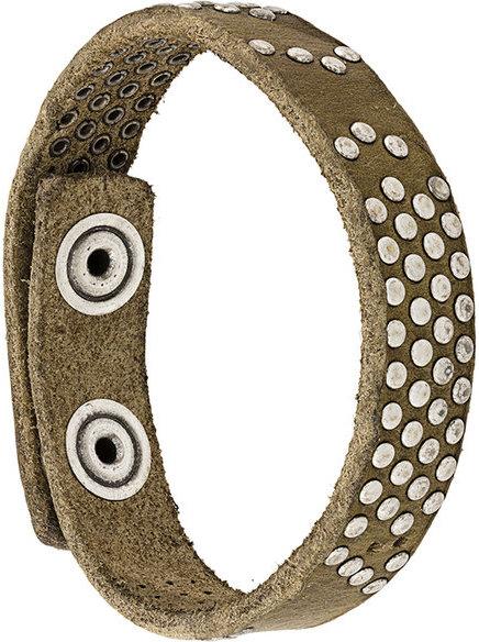 DieselDiesel studded bracelet