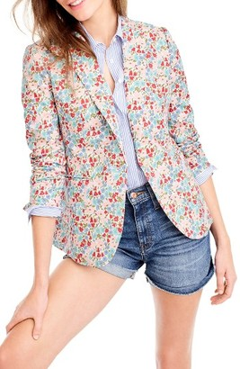 Women's J.crew Campbell Liberty Floral Blazer $198 thestylecure.com