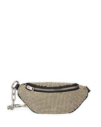 Alexander Wang Attica Rhinestone Soft Mini Belt Bag