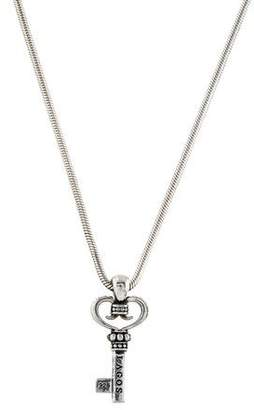 Lagos Heart Key Pendant Necklace