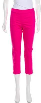 Blumarine Mid-Rise Cropped Pants