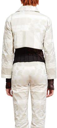Helenamanzano Brocade Silk Hlm Jacket