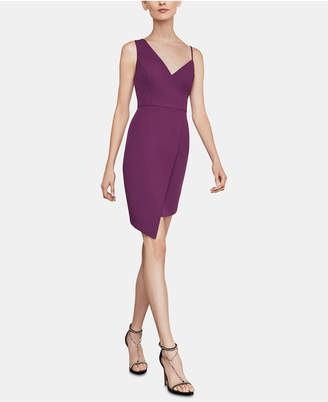 BCBGMAXAZRIA Micaila Asymmetrical Sheath Dress