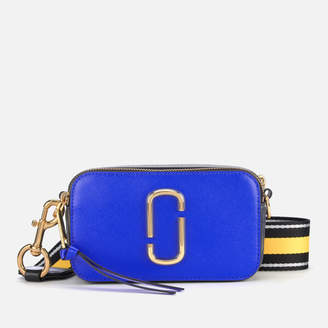 Marc Jacobs Women's Snapshot Cross Body Bag - Dazzling Blue Multi