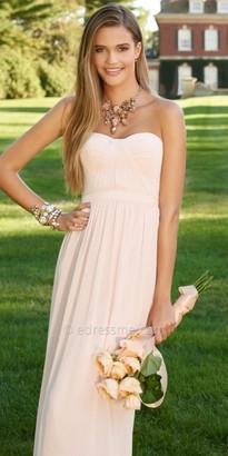 Camille La Vie Grain Ribbon Chiffon Strapless Evening Dress $150 thestylecure.com