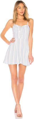 superdown Libby Lace Up Dress