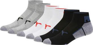 Mens Quarter Crew Socks (6 Pack)