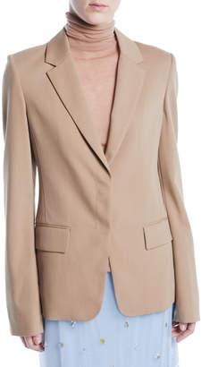 Jason Wu Notched-Lapel Single-Breasted Wool Suiting Blazer