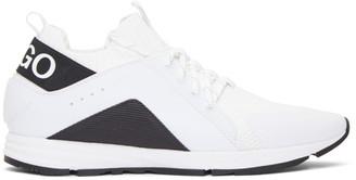 HUGO White Hybrid Sneakers