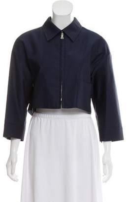 Prada Wool Crop Jacket