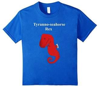 Tyranno Seahorse Rex Dinosaur Lover Funny Gift T-Shirt