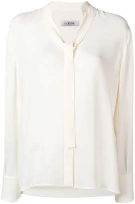 Valentino tie-front blouse