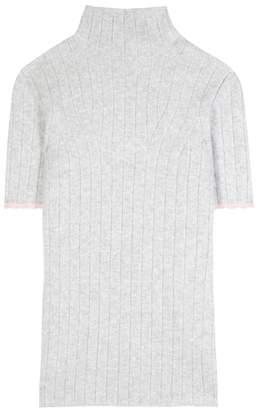 Victoria Beckham Wool-blend mockneck top