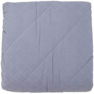 Soft Stage Blue Cotton Bedspread