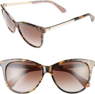 Kate Spade Jizelle 55mm Gradient Lenses Cat Eye Sunglasses