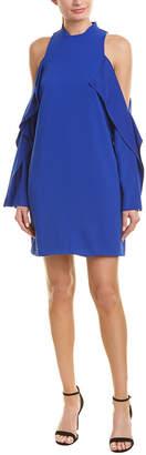 Pinko Cold-Shoulder Sheath Dress
