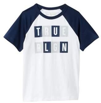 True Religion Textured Short Sleeve Tee (Toddler & Little Boys)