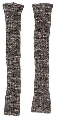 Chanel Fingerless Knit Gloves