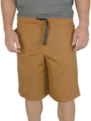 Stanley Men's Classic-Fit Belted Twill Elastic-Waist Shorts