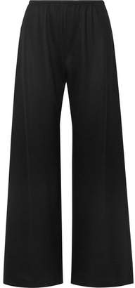 The Row Gala Wool Wide-leg Pants - Black