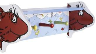 Trend Lab Dr. Seuss One Fish Two Fish Shelf with Pegs
