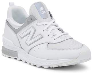 New Balance 574 Sport Classic Leather Sneaker