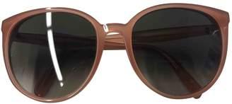 Celine Beige Plastic Sunglasses