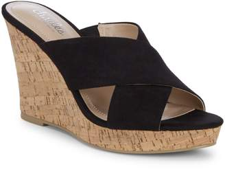 Charles by Charles David Latrice Microsuede Wedge Sandals